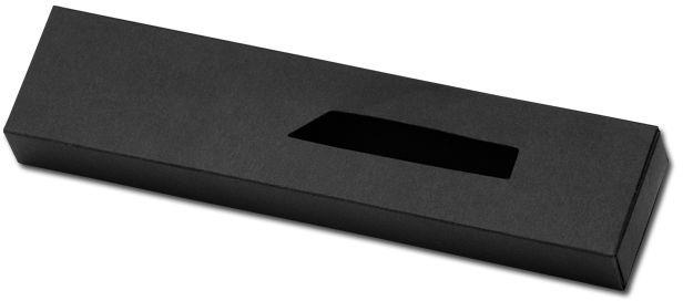 CALA papírová krabička na 1 pero, černá