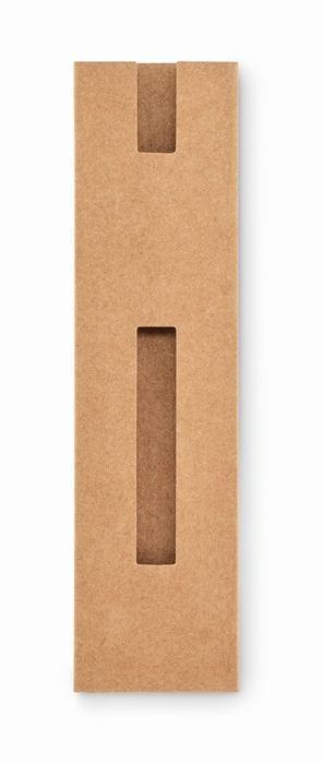 Paper sleeve Přírodní papírové pouzdro