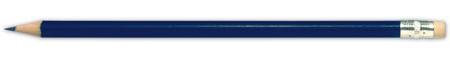 Modrá tužka s gumou na konci