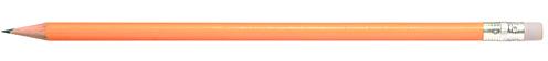Godiva oranžová tužka s gumou