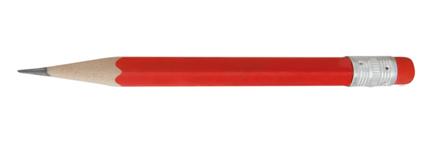 Minik červená mini tužka