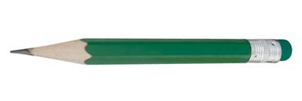 Minik zelená mini tužka