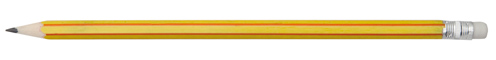 Graf žlutá tužka s potiskem