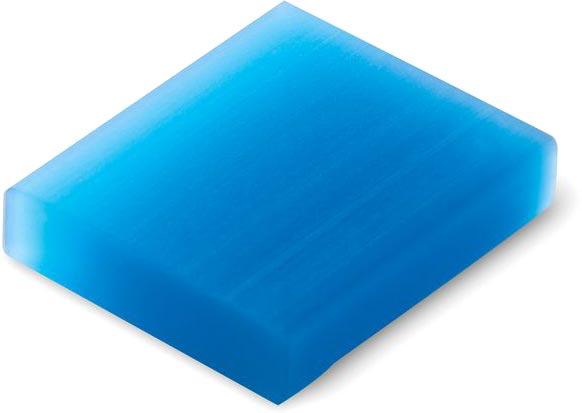 Guma světle modrá
