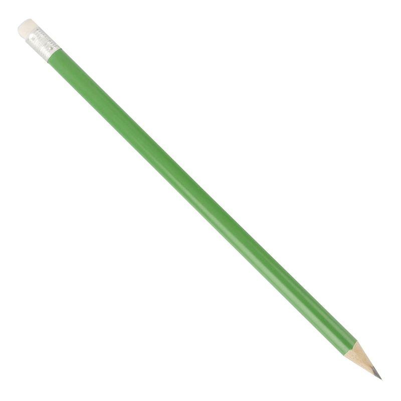 Dřevěná tužka zelená
