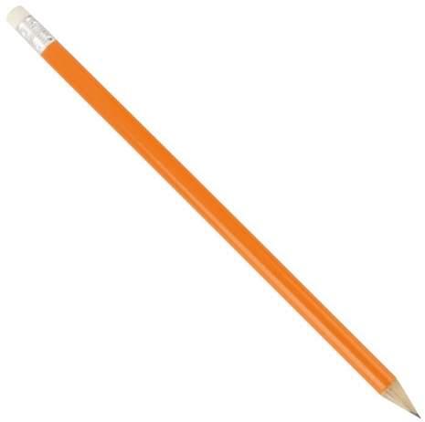 Dřevěná tužka, oranžová
