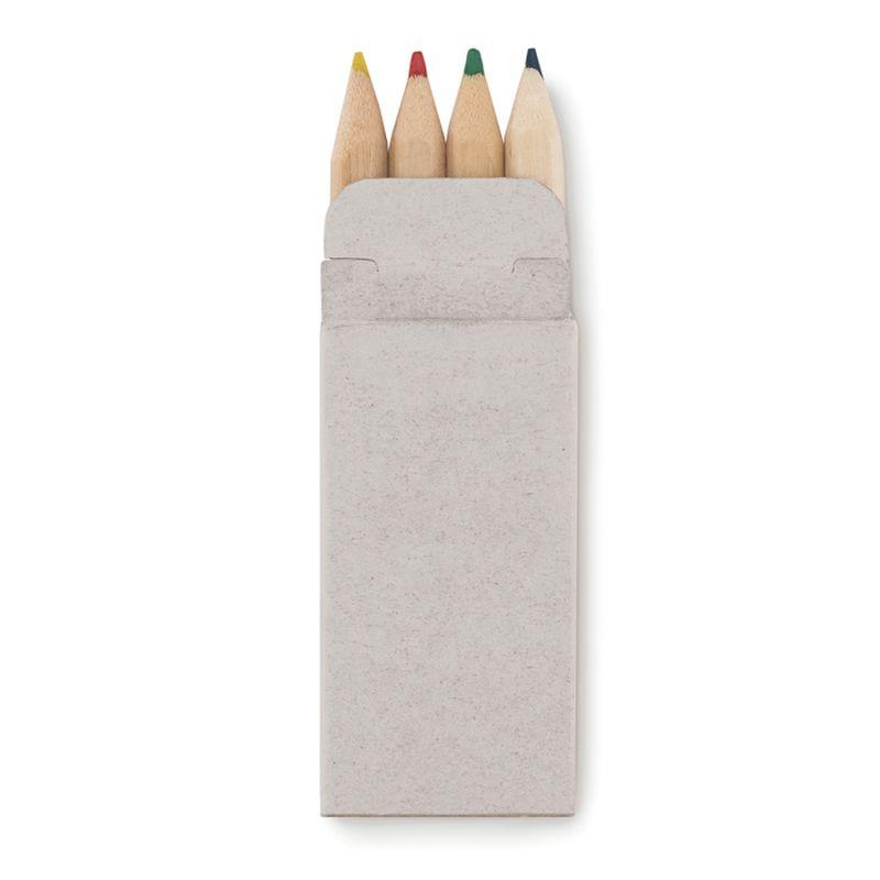 4 mini pastelky