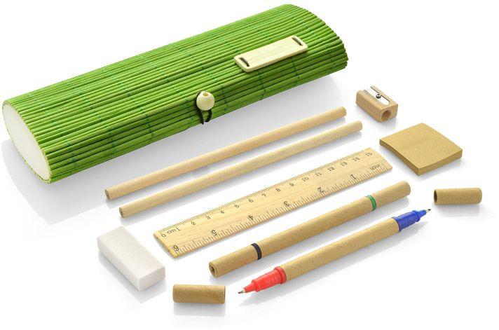 Bambusové pouzdro TITA světle zelená