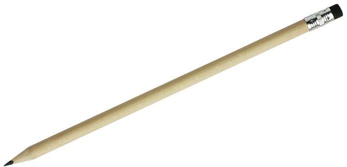 Tužka s gumou STUDENT černá
