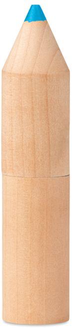 Petit coloret 6 pastelek v dřevěné krabičce