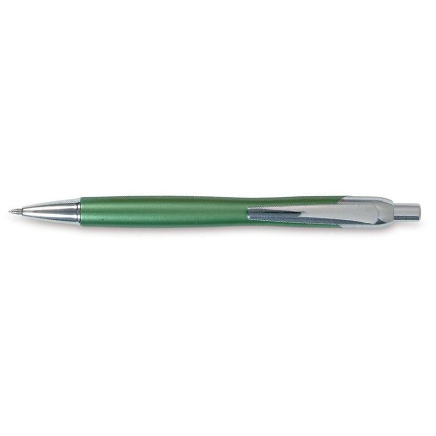 Pero se zelenou metalickou barvou