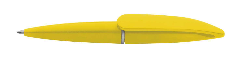 Hall žluté mini pero