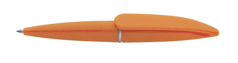 Hall oranžové mini pero s potiskem