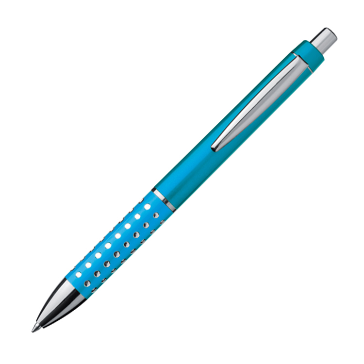 Elegantní světle modré kuličkové pero