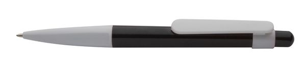 Melbourne černé kuličkové pero s potiskem