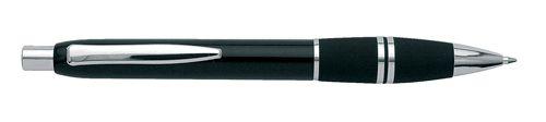 Černé kuličkové pero s širokým úchytem