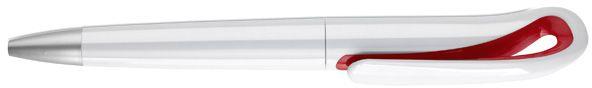 Červené kuličkové pero v pouzdře