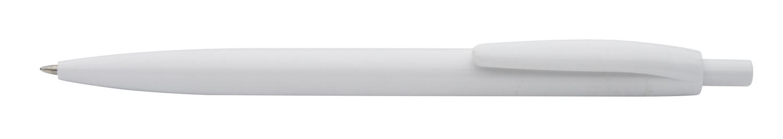 Leopard bílé kuličkové pero