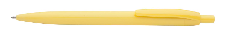 Leopard žluté kuličkové pero
