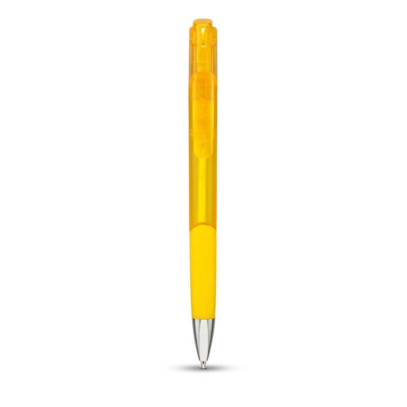 Parral žluté kuličkové pero s potiskem