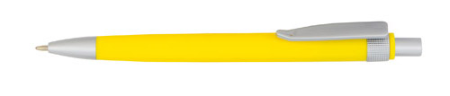 Boder žluté kuličkové pero s potiskem