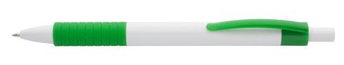Samoa zelené kuličkové pero s potiskem