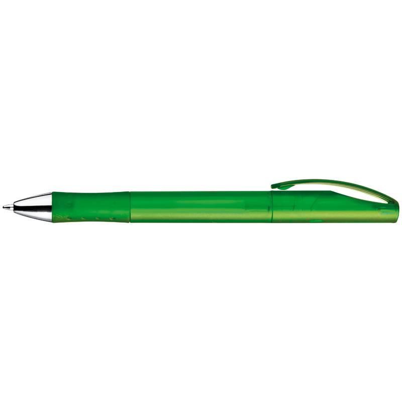 Matné zelené otočné kuličkové pero