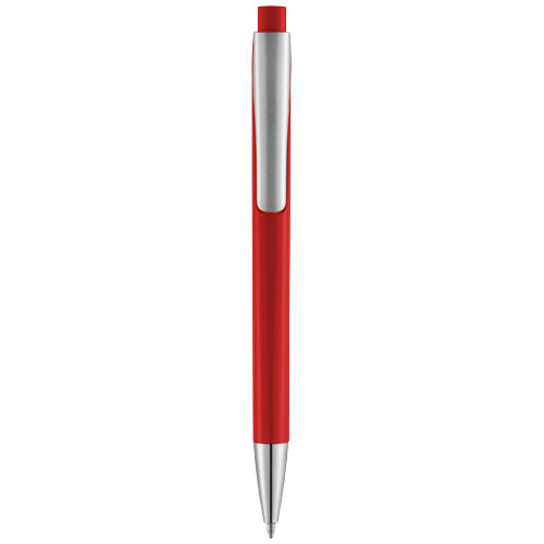 Červené kuličkové pero Pavo