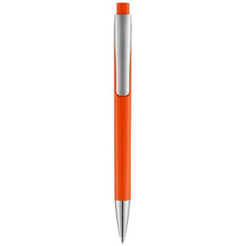 Oranžové kuličkové pero Pavo s potiskem