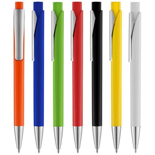 Oranžové kuličkové pero Pavo