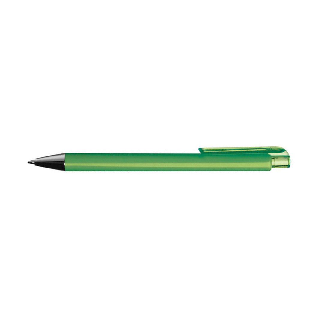 Limetkové plastové pero