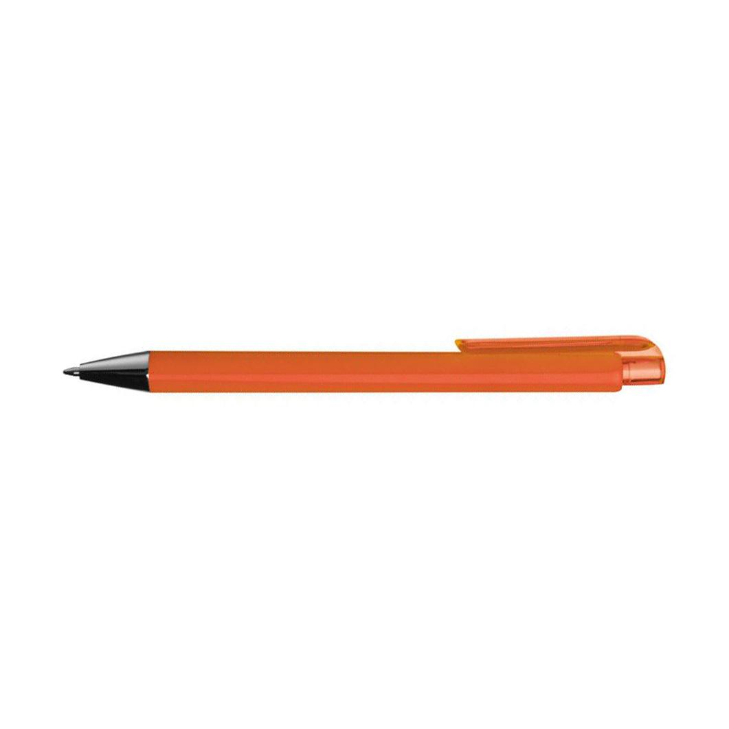 Oranžové plastové pero