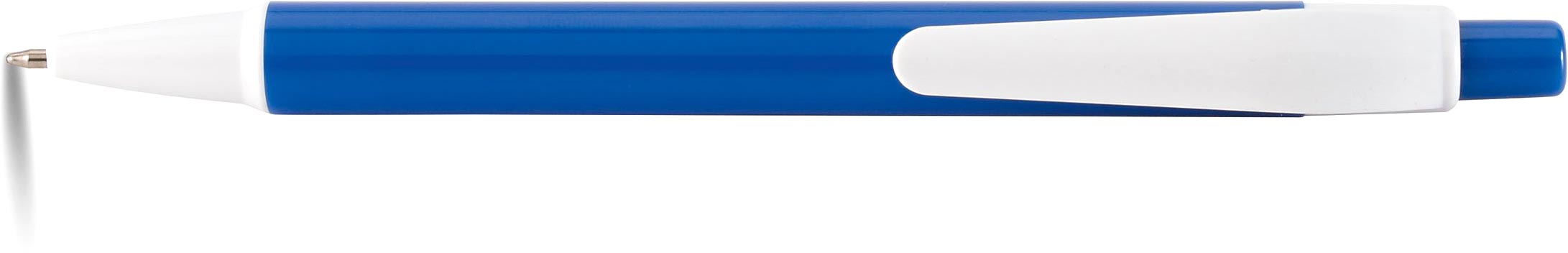 AMER Kuličkové pero modré s potiskem