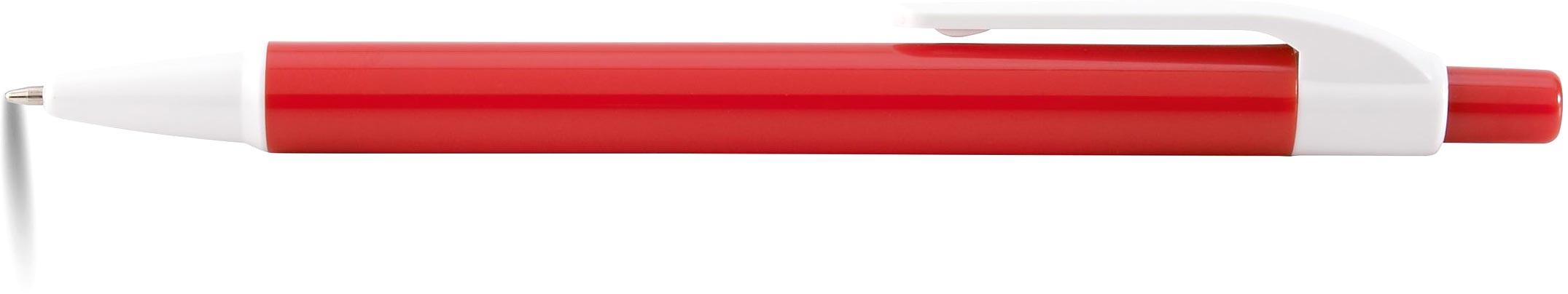 AMER Kuličkové pero červené