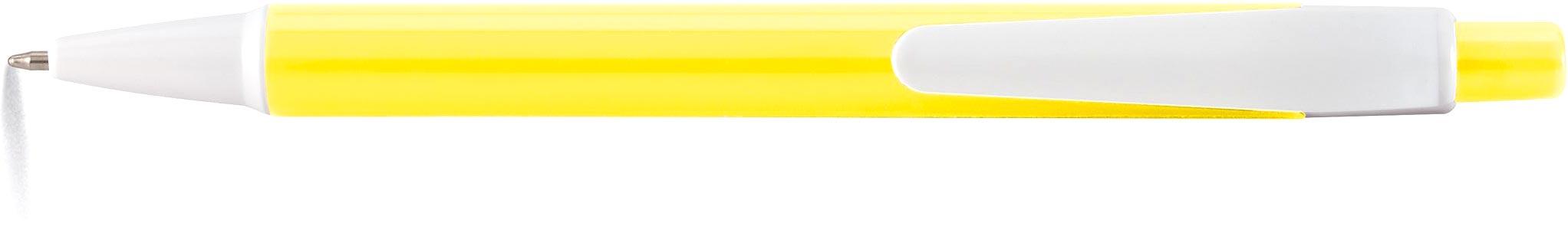 AMER Kuličkové pero žluté