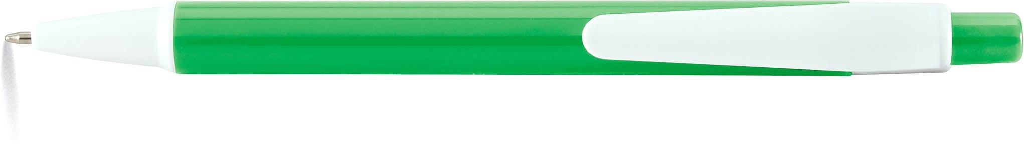 AMER Kuličkové pero světle zelené