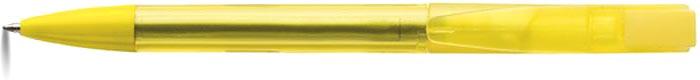 POBLANO Kuličkové pero žluté