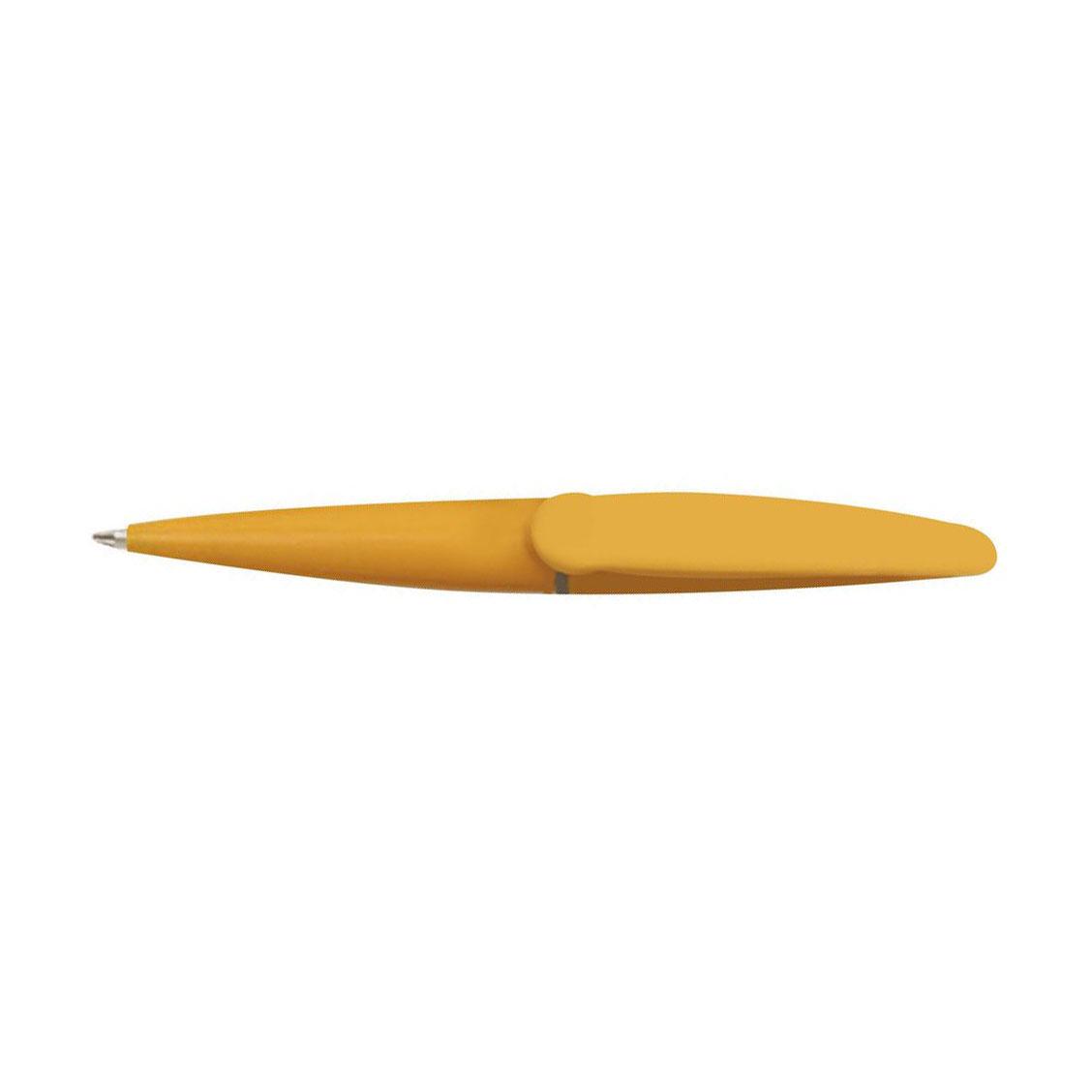 Chicha propiska žlutá modře píšící