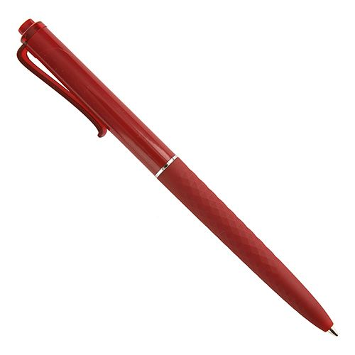 Kuličkové pero tmavě červené s potiskem