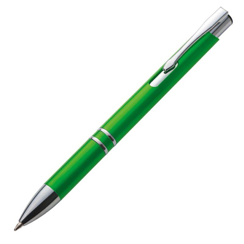 Kuličkové pero zelené