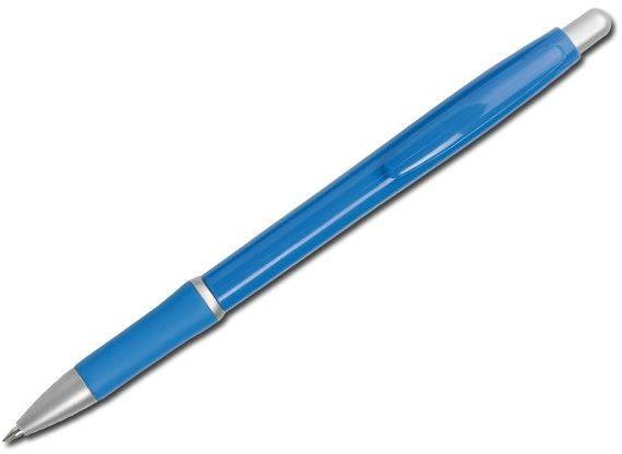 OCTAVIO plastové kuličkové pero, modrá náplň, modrá