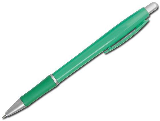OCTAVIO plastové kuličkové pero, modrá náplň, zelená