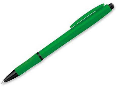 OCTAVIO DARK plastové kuličkové pero, modrá náplň, zelená