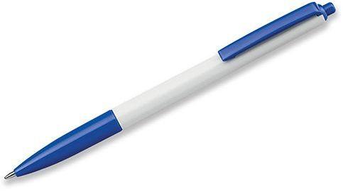 SIMPLY plastové kuličkové pero, modrá náplň, tmavě modrá