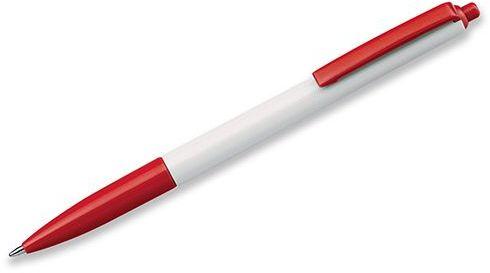 SIMPLY plastové kuličkové pero, modrá náplň, červená