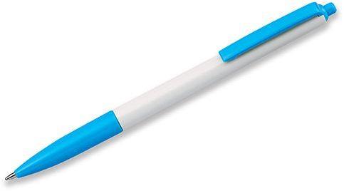 SIMPLY plastové kuličkové pero, modrá náplň, světle modrá