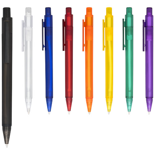 Kuličkové pero Calypso s efektem námrazy