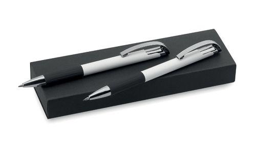 Bílá sada pera a mechanické tužky