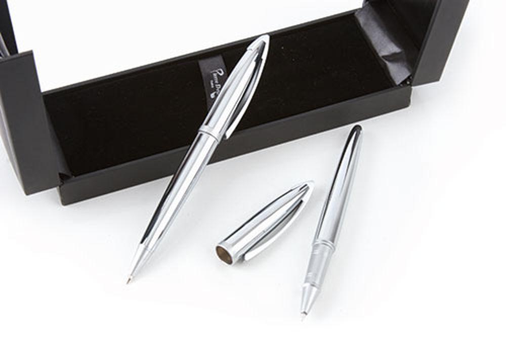 Roller P. Delone + Kuličkové pero v pouzdře střírbné