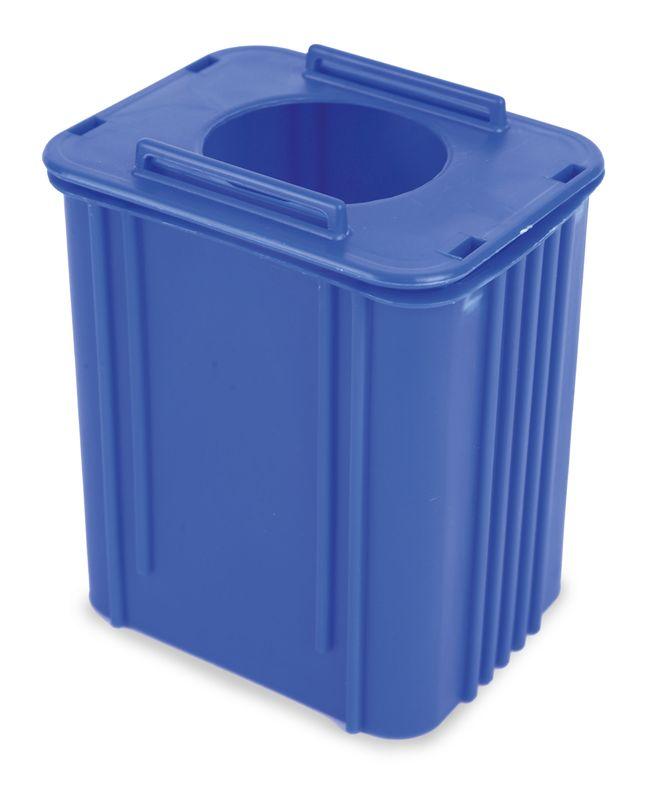Ekologický držák na pera modrý